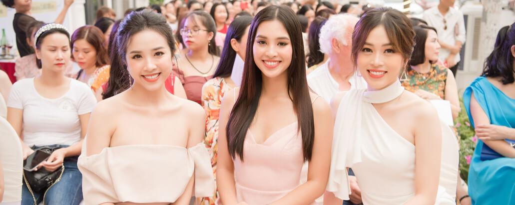 https://www.hnhmedi.com/Top 3 Hoa Hậu Việt Nam 2018 háo hức đi dự Khai trương H&H Quảng Ninh
